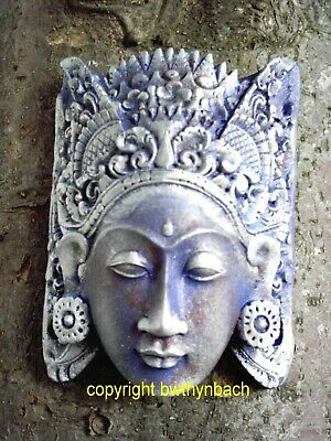New Rubber Concrete Latex Mould Mold To Make Outdoor Buddha Head Wall Plaque 2