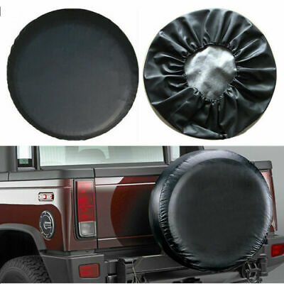 """15"""" Spare wheel tire cover PU Leather For JEEP WRANGLER 16inch Heavy Duty Vinyl"""