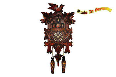 Black Forest Cuckoo Clock, Spinning Dancer, Music, Novelty 2015, Made in Germnay