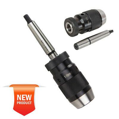1-16mm Self Tighten Keyless Drill Chuck + MT2-B18 Arbor With MK2 Mount