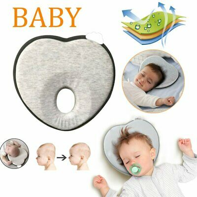 Infant Baby Pillow For Newborn Lovely Heart Shape Prevent Flat Head Support Pad
