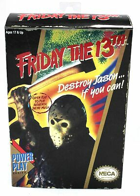Vintage 1980s NECA 'Friday The 13th' Video Game Design 8 Bit Action Figure - Y99