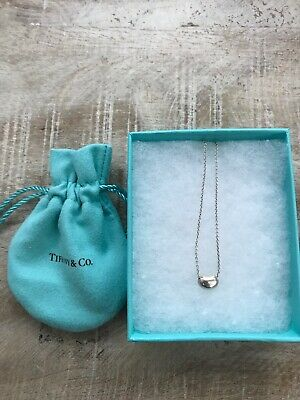 Sterling Silver tiffany co Pea necklace