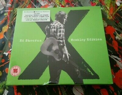 Ed Sheeran X Wembley Edition Dvd/Cd Jumpers For Goalposts Film Brand New Sealed