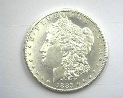 1885-Cc Morgan Silver Dollar  Gem Uncirculated Proof Like Rare This Nice!