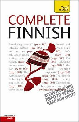 Complete Finnish: A Teach Yourself Guide (Teach Yourself Language), Foreign Lang