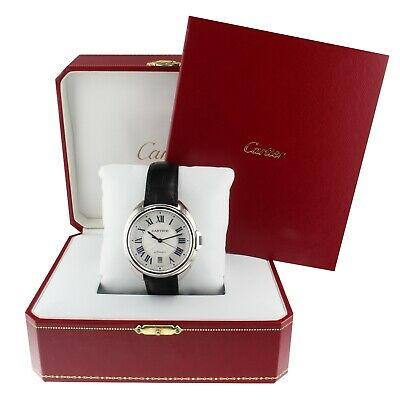 Cartier Cle de Cartier Stainless Steel Automatic 40 mm Watch WSCL0018 Complete