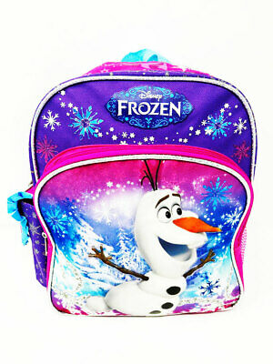 "Licensed Product Disney Frozen Olaf 12/"" Backpack BRAND NEW"