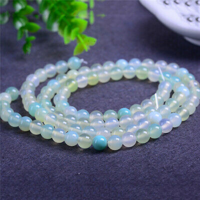 6-12mm Natural Round Color Agate Loose Beads Diy Accessories Jewelry Making