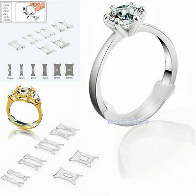 10pcs Multi-Size Ring Guard Invisible Size Adjuster For Loose Ring Sizer Fitter
