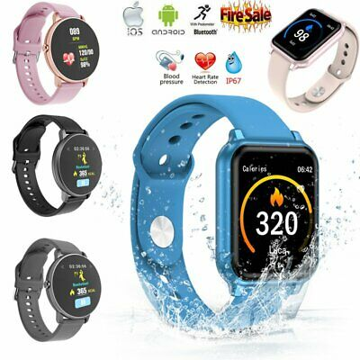 A6 Sport Smart Watch Heart Rate Blood Pressure/Oxygen Fitness Tracker Bracelet