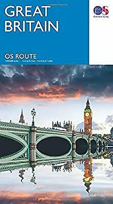 OS Route Map    Route Map, Ordnance Survey, Used; Good Book