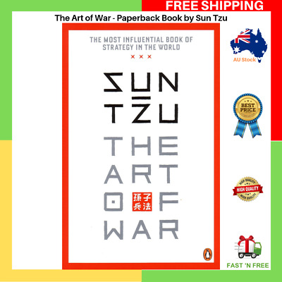 The Art Of War by Sun Tzu Paperback Book Master Sun FAST AND FREE SHIPPING NEW