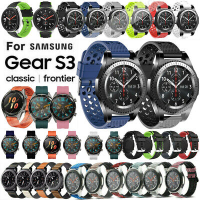 For Samsung Gear S3 Frontier S3 Classic Replacement Wristband Watch Band Strap