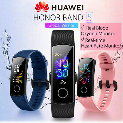 HUAWEI HONOR BAND 5 Smart Watch Wristband Amoled bluetooth 5.0 GLOBAL VERSION