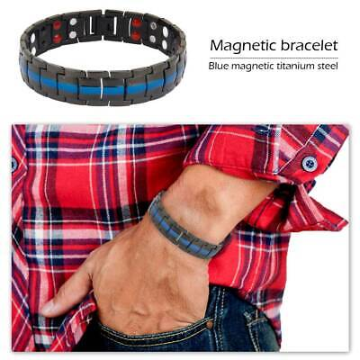 Health Mens Magnetic Bracelets Arthritis healing Carpal Bio Therapy Relief Pain