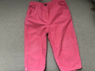 CARTERS GIRLS SOFT CORDUROY TROUSERS JEANS AGE 24 Mths