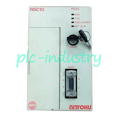 Yaskawa Used NITTOKU NSC10 PLC JEPMC-PC040 Tested In Good Condition