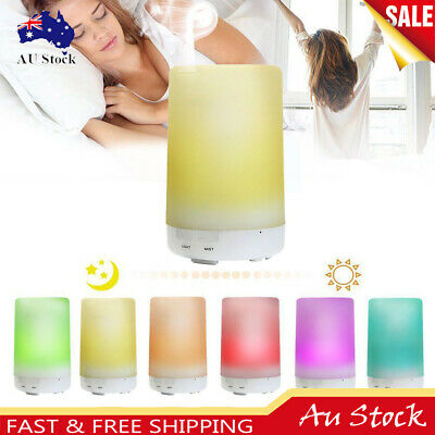 LED Ultrasonic Humidifier Air Purifier Essential Oil Aroma Diffuser Aromatherapy