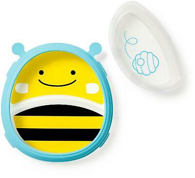 Skip Hop ZOO SMART SERVE PLATE AND BOWL - BEE Toddler Feeding BN