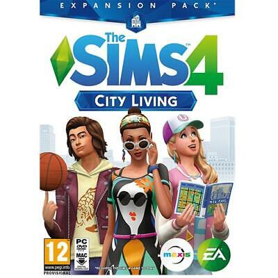 The Sims 4 City Living PC Expansion Pack Game NEW & SEALED