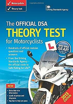 The Official DSA Theory Test for Motorcyclists Book 2013 edition, Driving Standa