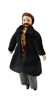 P8 1//12th scale DOLLS HOUSE RESIN PEOPLE VICTORIAN STANDING GENTLEMAN