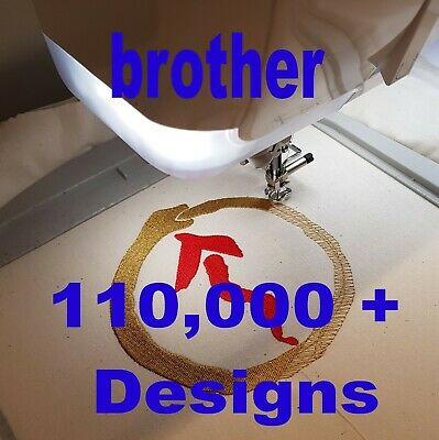 Brother Embroidery Designs - 150,000+ designs via Digital Download