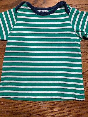 Baby Boden Toddler Boys Size 18-24 Months Striped Tee Shirt