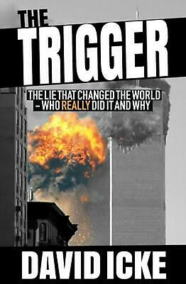 Trigger by David Icke Paperback Book Free Shipping!