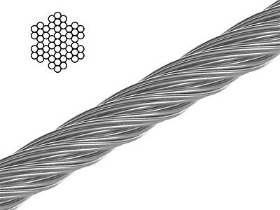 Stainless Steel Wire Rope 7x7 4-6 mm arbo-inox