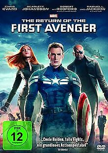The Return of the First Avenger von Anthony Russo, Joe Russo   DVD   Zustand gut