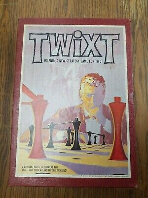 Vintage 1962 Twixt Board Game 3M Bookshelf Games USA Strategy Game of Barriers