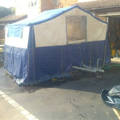Sunncamp Trailer Tent SE 400 with complete awning