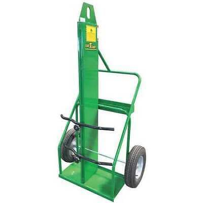 SAFTCART 871-16FW-LE Cylinder Cart,Powder Coated,Steel