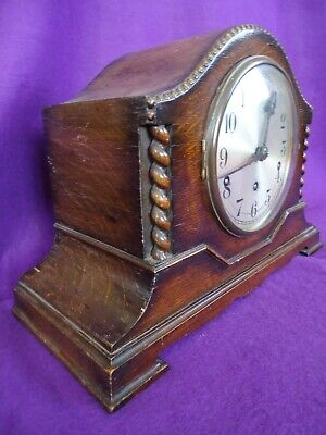 Antique Winterhalder German Westminster Chiming Mantle Clock. Spares Or Repair