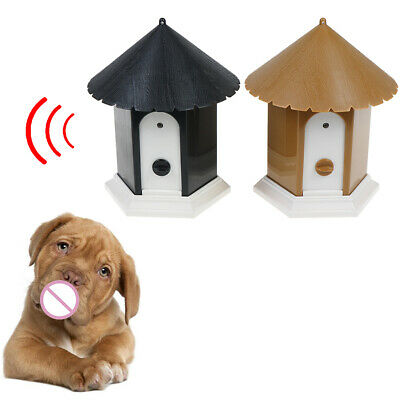 Outdoor ultrasonic anti barking control device dog pet stop barking training SK