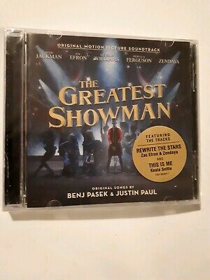The Greatest Showman - Motion Picture Soundtrack. (CD) Brand New - Sealed.