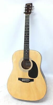FALCON FG100N Full Size 6 Steel String Acoustic Dreadnought Guitar SPARES - E24