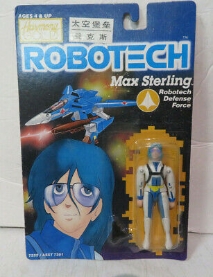 """4"""" ROBOTECH MASTER Action Figure c.1985 Harmony Gold #7215"""
