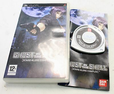 Ghost In The Shell Stand Alone Complex SONY PSP Game Complete In Case - T21