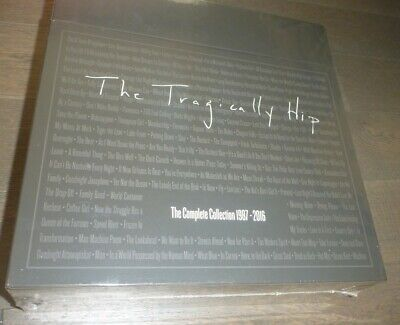 The Tragically Hip Complete Collection 1987-2016 Vinyl Box Set sealed w slipmat
