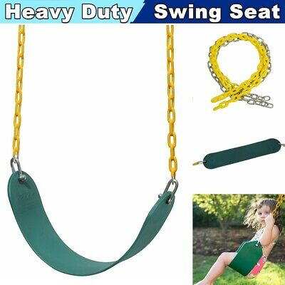 Heavy Duty Toddler Swing Seat Set Accessories with Coated Chain For Child Kids