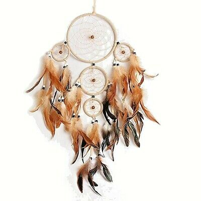 Handmade Dream Catcher With Feathers Wall Hanging Decoration New