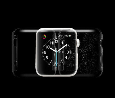 Ultra-Slim Electroplate PC Hard Case Cover For Apple Watch Series 2 38mm / 42MM