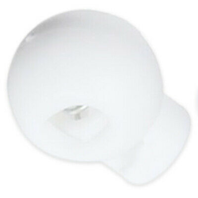 50 pcs Cord Lock Stopper lock active end off Spherical spring white U1X6