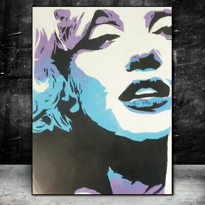 Abstract Portrait Living Room Wall Poster Home Decoration Frameless Painting