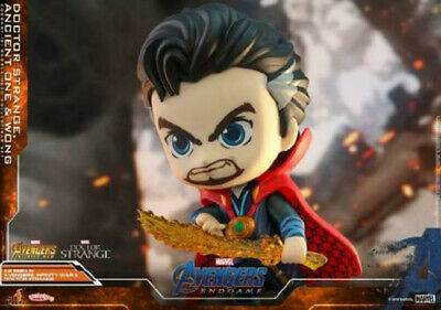 Hot Toys Cosbaby Set Ancient One Doctor Strange Wang Bobble-Head Collection