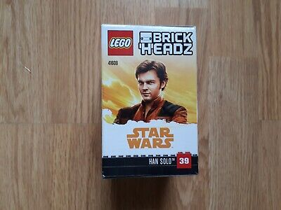 NEW LEGO HAN SOLO BRICK HEADZ SET 41608 HAN SOLO DISNEY STAR WARS SET MITB