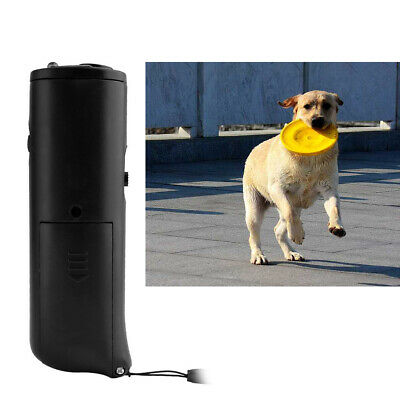 Anti Stop Dog Barking Ultrasonic Pet Trainer Repeller Control Trainer LED USA